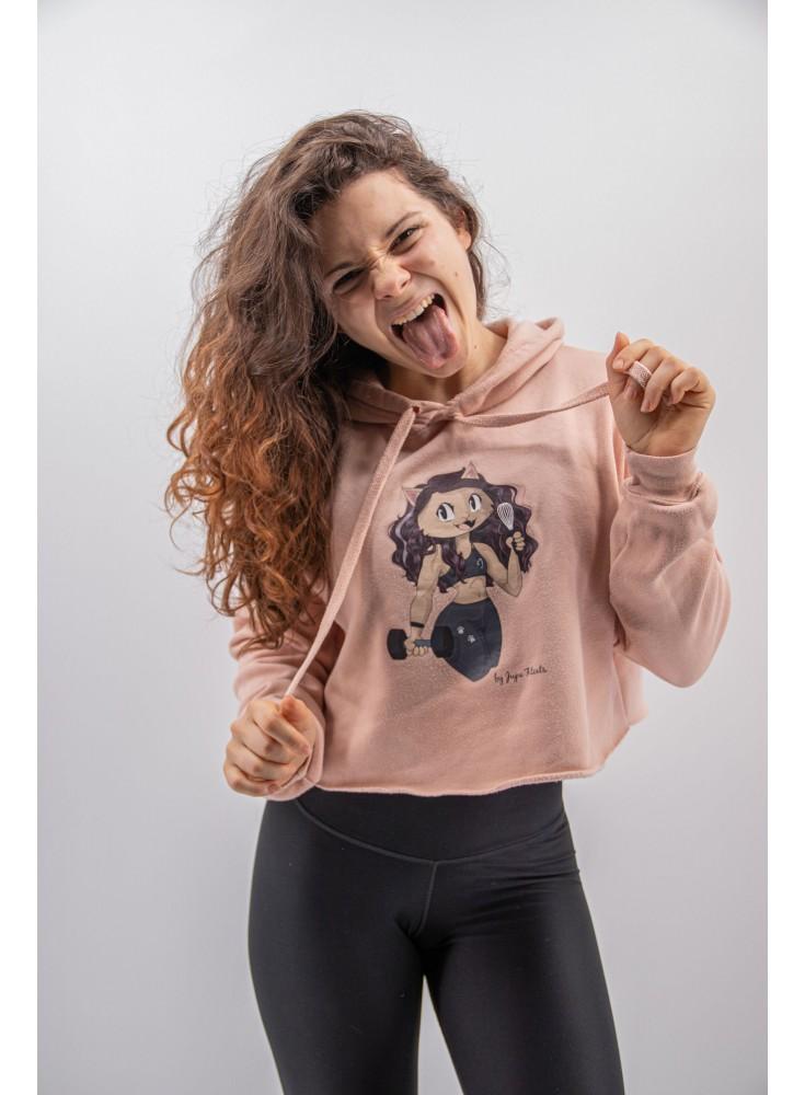 T-Shirt TEAM FITCATS - Gris foncé